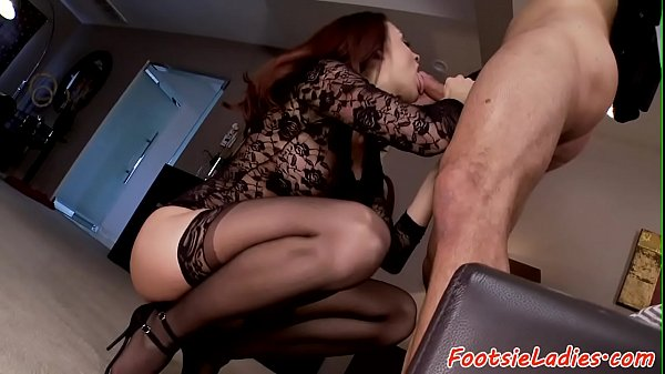 Footfetish Beauty Pounded And Jizzed On  thumbnail
