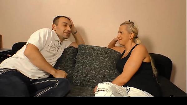 DEUTSCHLAND REPORT – Lusty German blonde newbie gets picked up and drilled hard