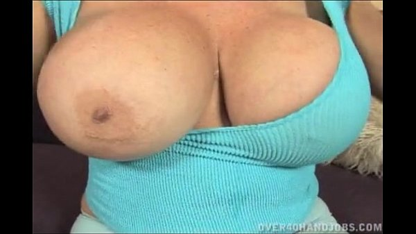 Blonde Granny With Huge Tits Handjob Thumb