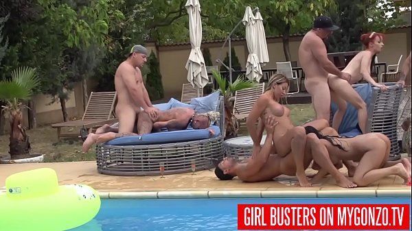 Image Outdoor Swimming Pool Orgy With Kitty Core, Lana Vegas, Rosalina Love, Jezzi Cat, Mugur, And Many More Other Horny Pornstars