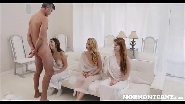 Three Mormon Teens Fucked By Church President
