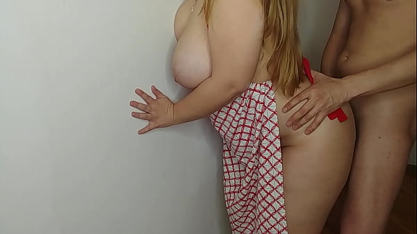 sexy bbw paints the walls and gets a dick in a big tight ass. cumshot in ass. Thumb