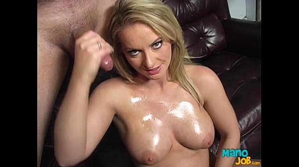 Sexy Goddess Aline Gives An Incredible Handjob
