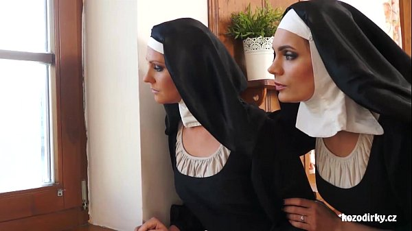 Two nuns enjoying sexual adventure
