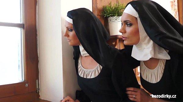 Two nuns enjoying sexual adventure Thumb