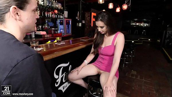 Casey Calvert fucks at a bar