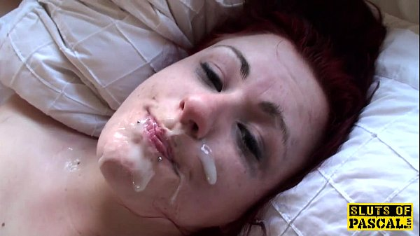 British redhead sub Isabel dominated with sex Thumb