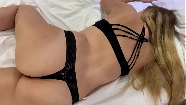 My cute stepsister is sleeping and I fucked her good and cum on tits
