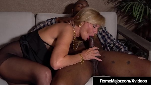 Mature Blonde Presley St Claire Wrecked By BBC Rome Major! Thumb