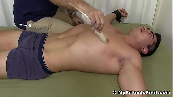 2018-11-14 09:05:07 - Restrained hunk wants to cry from all of this tickling 10 min  HD http://www.neofic.com