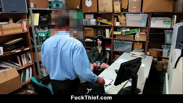 Petite Thief Teen Blackmailed and Fucked Hard Thumb