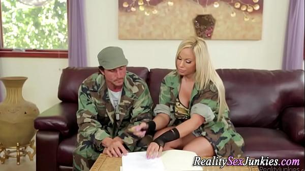 Busty army pornstar fuck Thumb