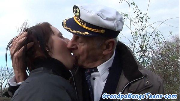 Busty eurobabe bangs grandpa Thumb