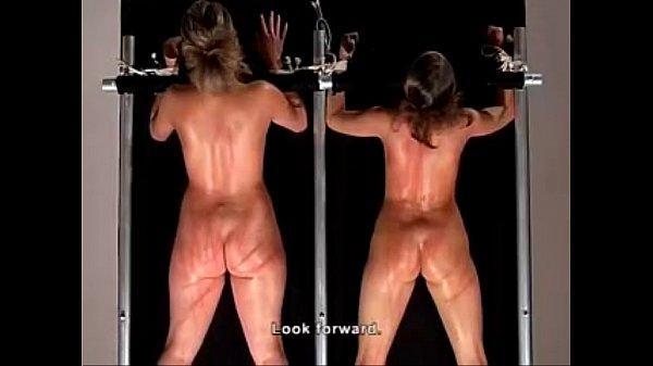 Женщин подвешивают бьют плеткой и трахают