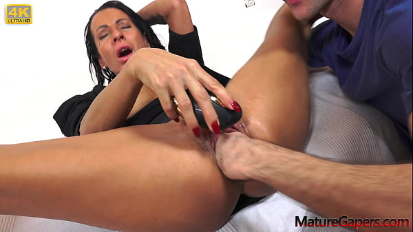 Hard cunt gaping, fisting and anal fucking of extra horny MILF Valentina Sierra