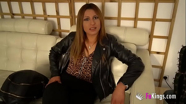 Latina hottie makes her ANAL DEBUT with a giant black cock