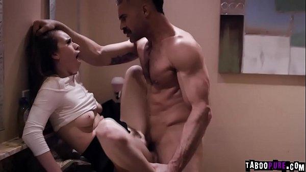 Aggressive Teen Waitress Jill Kassidy seduces her married boss Charles Thumb