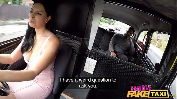 Female Fake Taxi Kira McQueen Rides A Big Black Cock