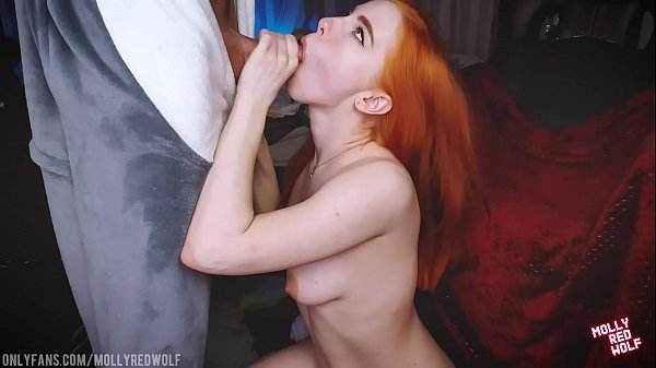 Distracted Me From Work To Fuck Me.Oral Creampie, Doggy StyleMollyRedWolf