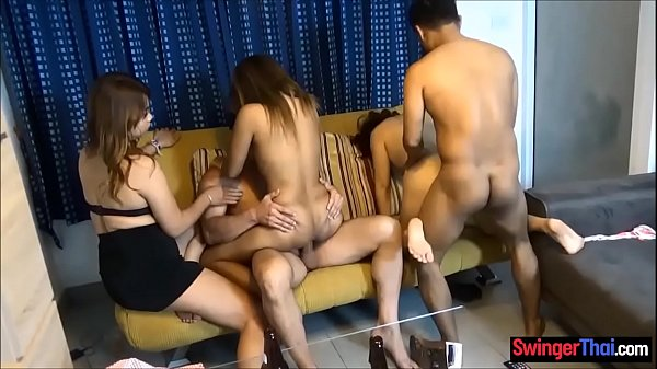 Group sex with drunk Thai girls who are also swingers Thumb
