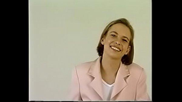 Retro german blonde teen Sabine casting