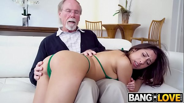 Kira Perez Gets Pounded By Grandpa Thumb