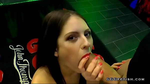 Rebecca volpetti swallowing and receiving hard cocks Thumb