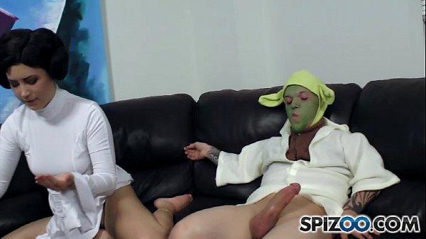Yoda Footjob