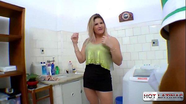 Fucking the maid's ass in the living room - Alessandra Dias - Tony Tigrao - - -
