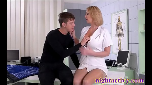 the doctor makes love with the patient