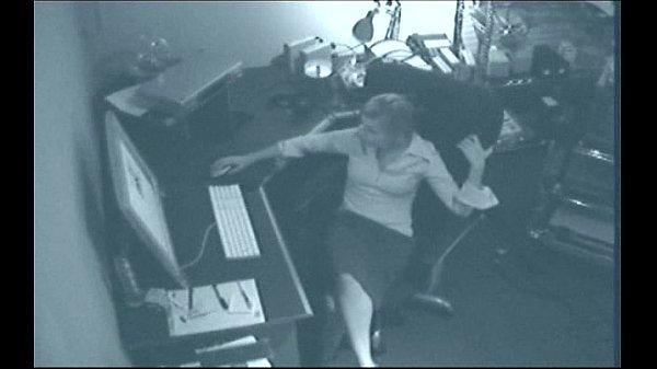 Naughty Masturbating Secretary Caught On Tape Thumb