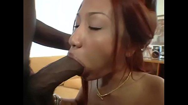 Married Thai Hooker fucks huge black cock