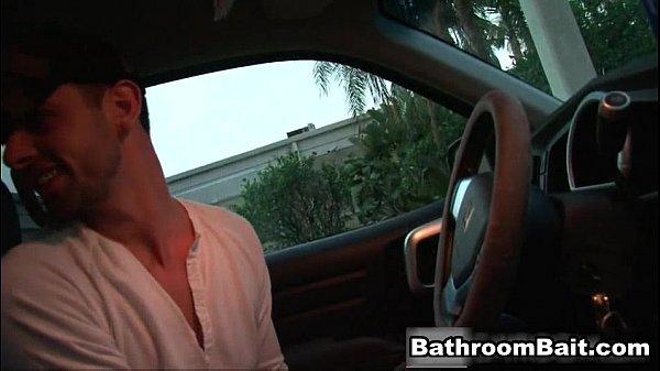 Gay porn gangbang in public bathroom gays