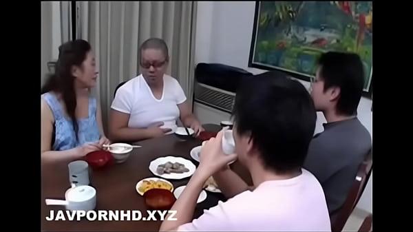 Mature Japanese mom teach sex to son thumbnail