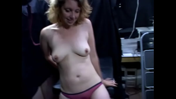Wife Strip and Husband is handed a camera
