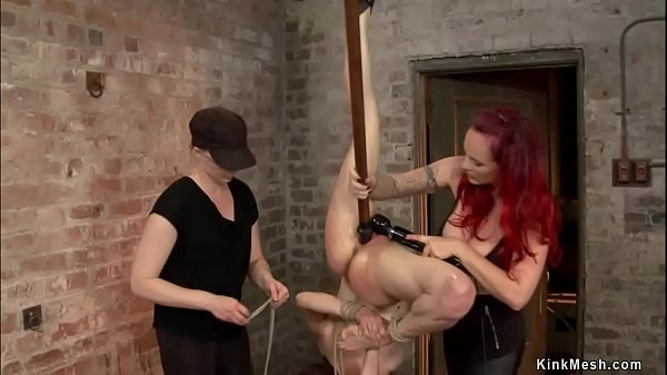 Anal hooked and fucked slave