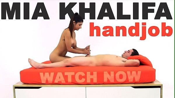 MIA KHALIFA - Arab Goddess Performs Expert Level Handjob On Peter Green Thumb