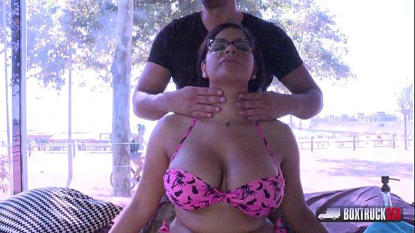 Charming Sheila Ortega  one way mirror fuck at the public