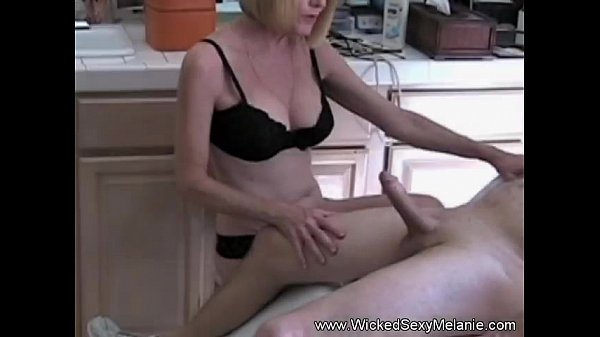 Handjob From Excited Amateur MILF Thumb