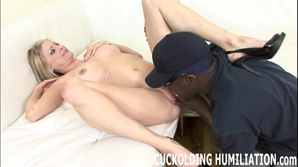 Watch me get filled up with huge black cock
