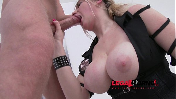 Big butt slut Ria first time in studio: nasty new slut DP'ed SZ719