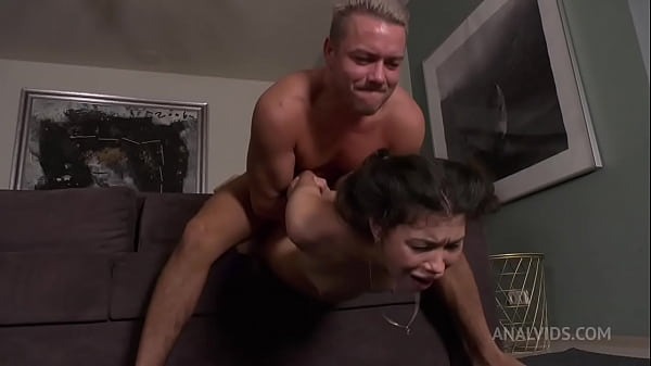 Hard Double Anal With Siberian Babe Kris Owl! D...