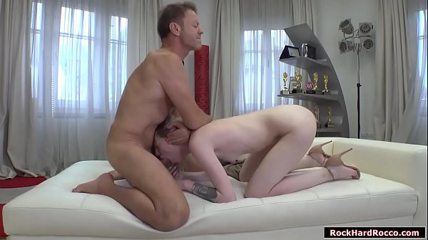 Milena Devi licked and analed by Rocco Thumb