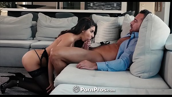 PORNPROS Stripper gram brunette Nina North fucked and facialed Thumb