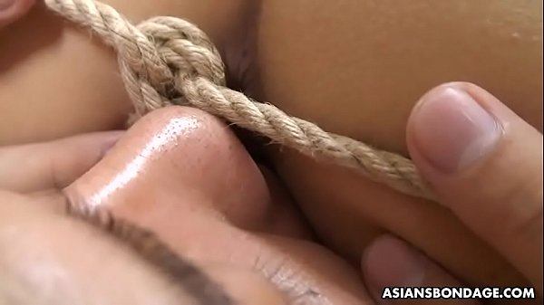 Haruka Otsuka is into various pleasures that include ropes, today