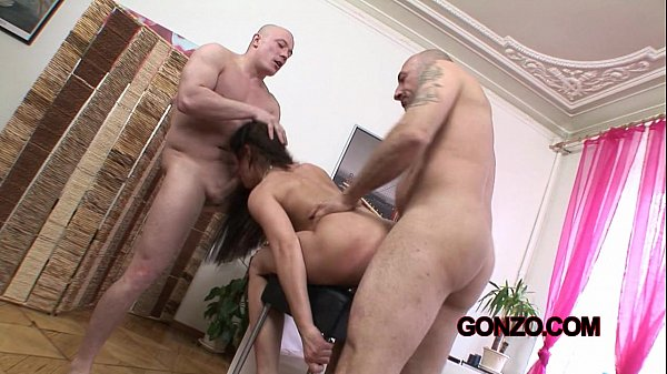 Anita Henger anal DP threesome GG233 (exclusive)