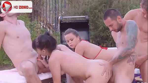 Ashli Orion Kaci Starr How to make badminton interesting HD Porn Thumb