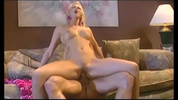 Hot blonde slut with round boobs Hannah Harper screams when she rides hard dick by her twat