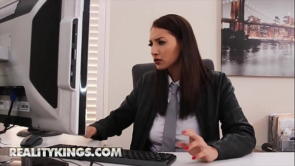 Goddess (Bella Rolland) Rides Her Colleagues Hard Dick - RealityKings