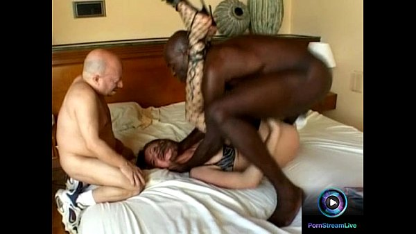 Sexy Angelika Wild tastes small and big black cock at the same time